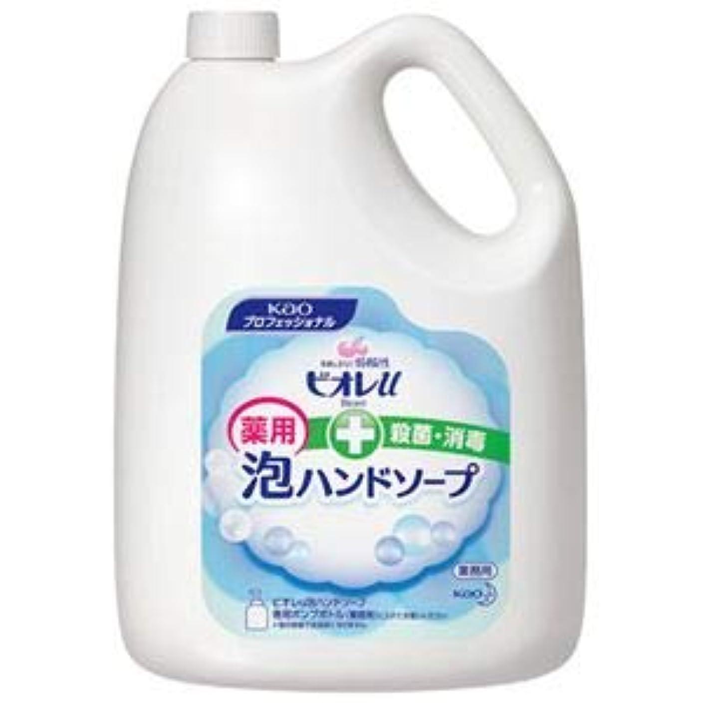 ジャーナル貫入葉巻(まとめ) 花王 ビオレU 泡ハンドソープ 業務用 4L【×3セット】