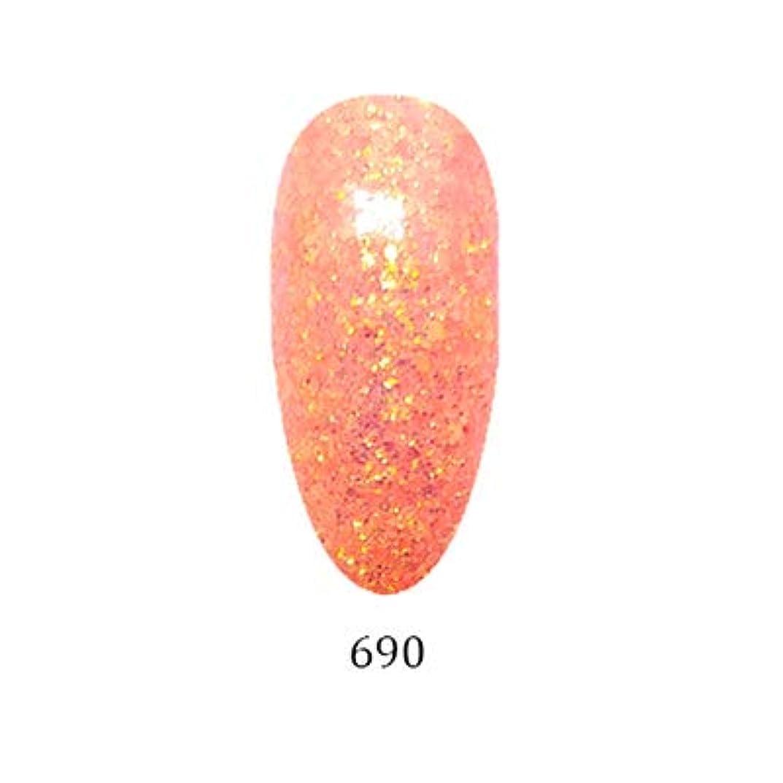 先に水銀の栄光のアイスジェル カラージェル グリーミングシリーズ GM-690 3g