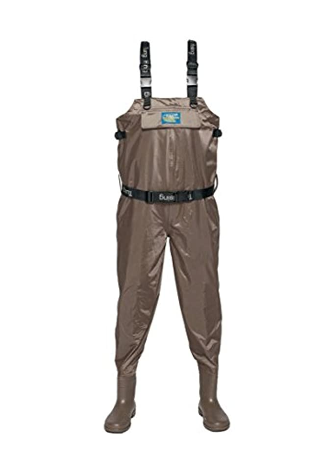 中世の広々とした環境保護主義者Fly Fishing Waders通気性Crosswater Chest Waders Hunting WadersメンズのFishing Bib Pants withブーツ