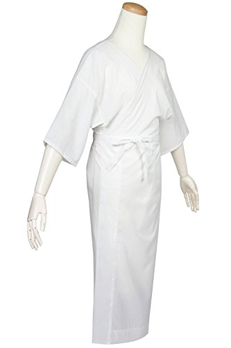 (キョウエツ) KYOETSU レディース洗える肌襦袢 着物スリップ 白 通年 01 (M)