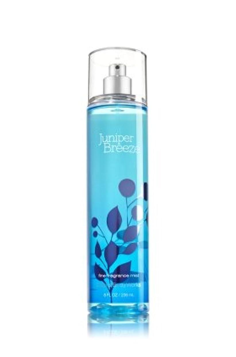 侵入横に件名【Bath&Body Works/バス&ボディワークス】 ファインフレグランスミスト ジュニパーブリーズ Fine Fragrance Mist Juniper Breeze 8oz (236ml) [並行輸入品]