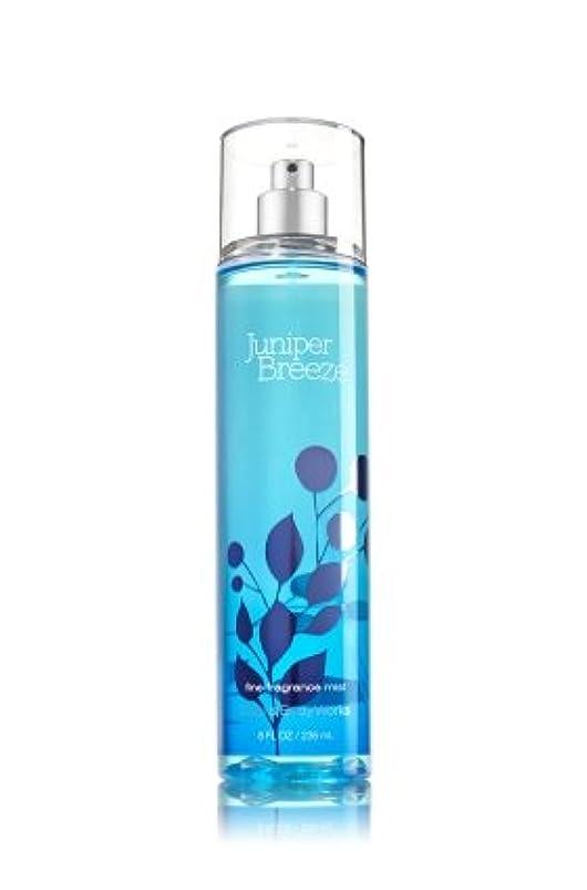 金曜日ブラシ不振【Bath&Body Works/バス&ボディワークス】 ファインフレグランスミスト ジュニパーブリーズ Fine Fragrance Mist Juniper Breeze 8oz (236ml) [並行輸入品]