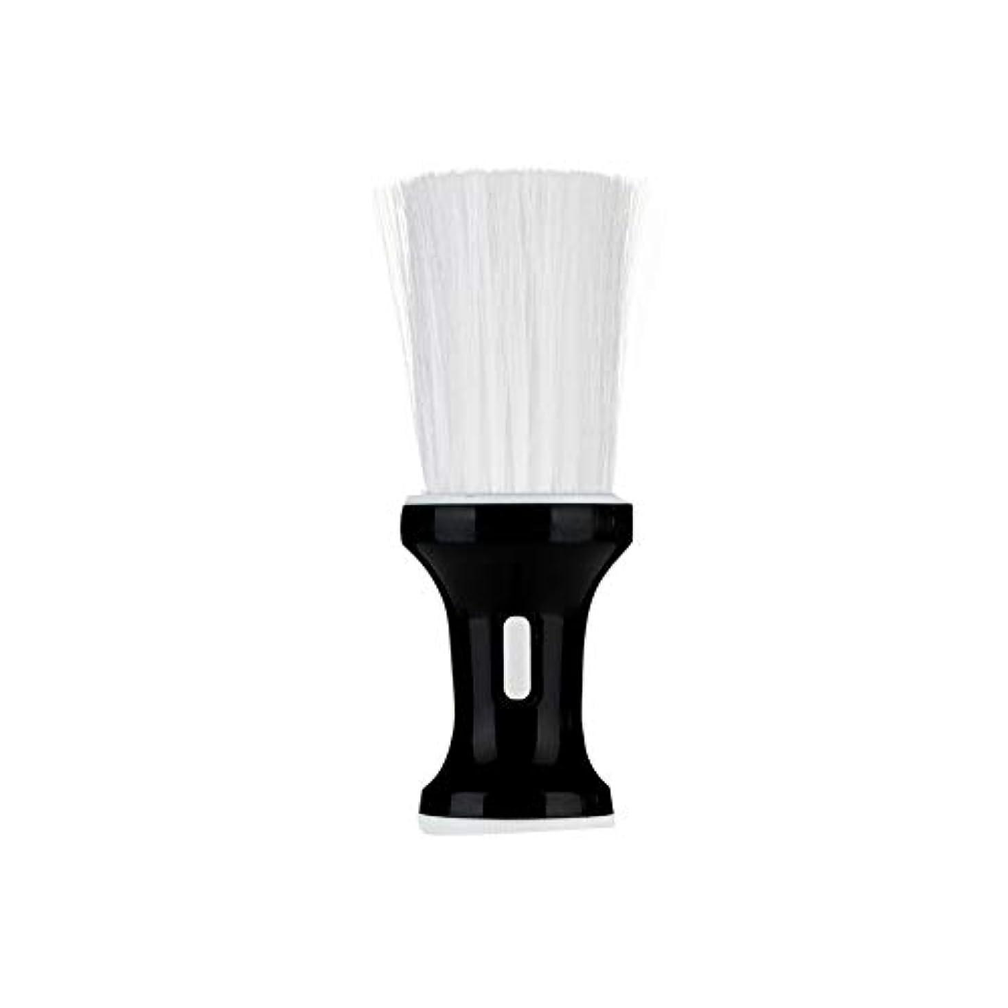 ポテト指標モットー壊れた首ダスターブラシ散髪理髪脱毛パッケージの毛のブラシヘアブラシの毛は黒、特殊なブラシで、プロのクリーニングをカット