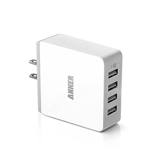 Anker 36W 4ポート USB 急速充電器 PowerIQテクノロジー搭載