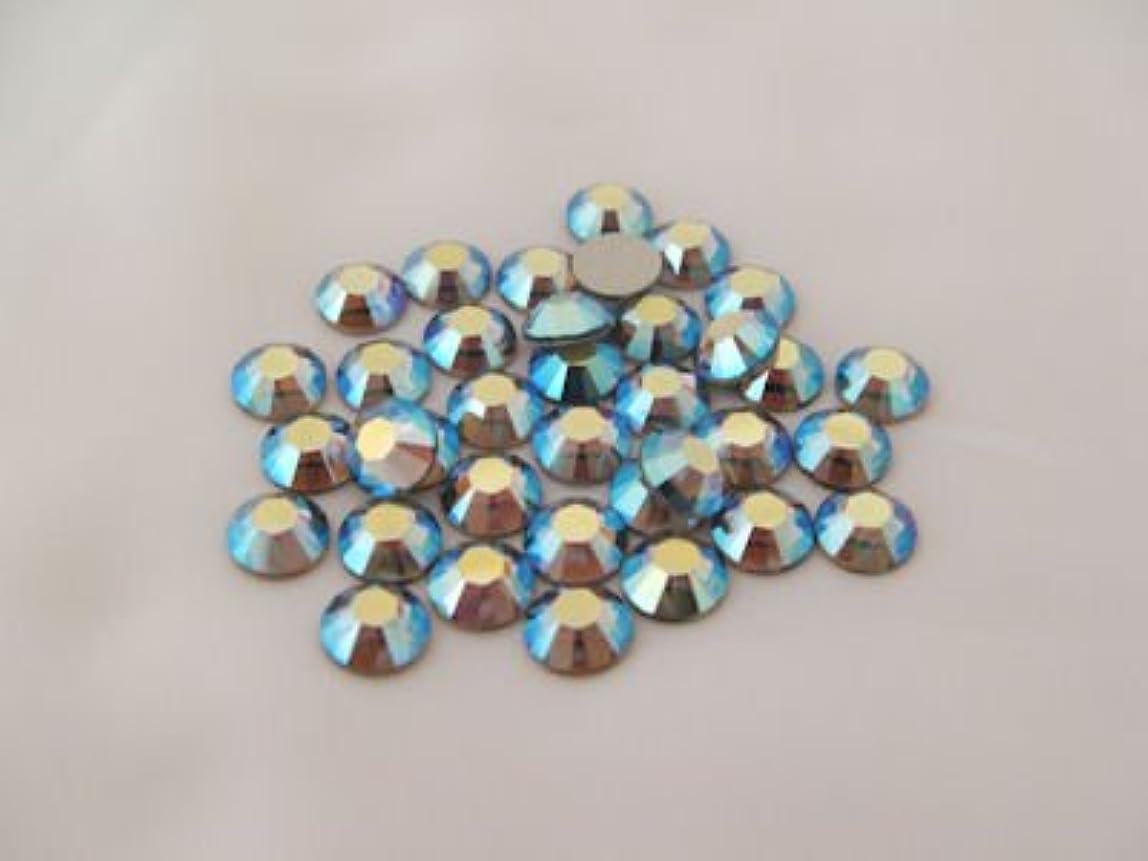 先住民風が強い社会学ネイルアートパーツ ブラックダイヤモンドクリスタルAB SS9:2.5~2.6mm 1440P