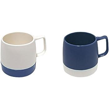 【正規輸入品】 DINEX(ダイネックス) マグカップ 8 oz. MUG 2-TONE Set OFF WHITE / MIDNIGHT BLUE x MIDNIGHT BLUE / OFF WHITE