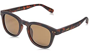 Local Supply Men's AVENUE Polarized Sunglasses - Dark Brown Tint Lens, Matte Tortoiseshell Frames