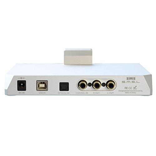 SMSL M9 ヘッドフォンアンプ 32bit/768kHz DSD512非同期 DACデコーダ