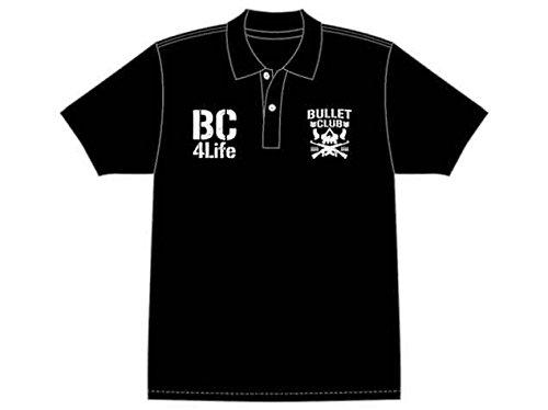 BULLET CLUB ポロシャツ(両胸プリント) L...