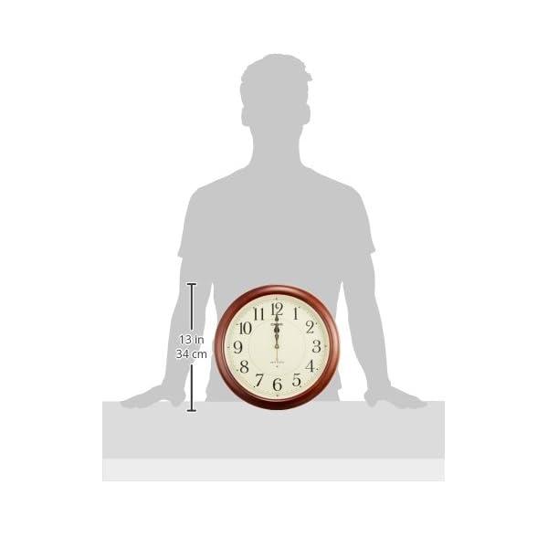 カシオ 夜見えライト付き 電波アナログ壁掛け時計の紹介画像5