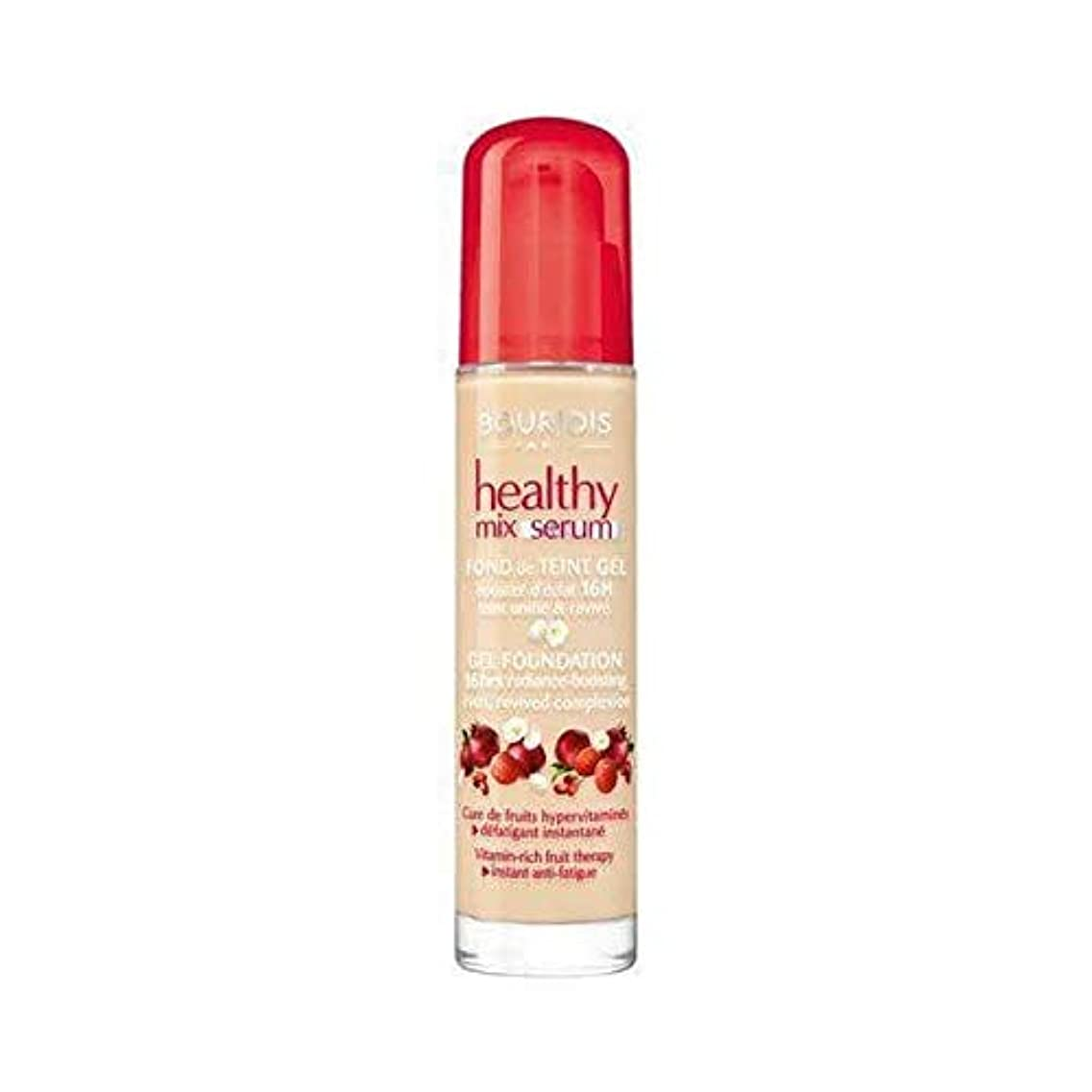 祭り寝てるギャザー[Bourjois ] ブルジョワヘルシーミックス血清基盤ヴァニラ52 - Bourjois Healthy Mix Serum Foundation Vanille 52 [並行輸入品]