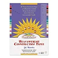 Pacon Corporation : Construction Paper,Smooth Textured,30cm x 46cm,50/PK,Violet -:- Sold as 2 Packs of - 50 - / - Total of 100 Each