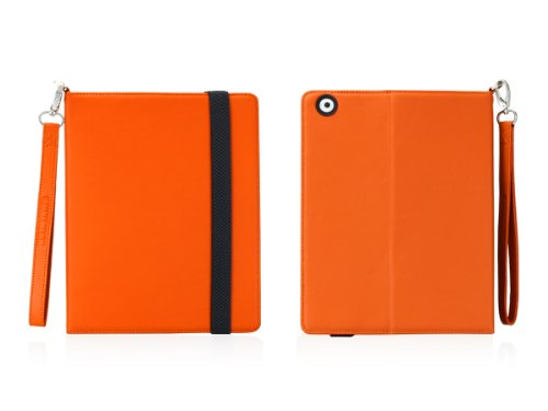 TUNEWEAR TUNEFOLIO for iPad 2 オレンジ TUN-PD-000065