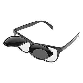 溶接メガネ 溶接保護メガネ 電気メガネ グラス 電気 ガス溶接 作業に適用 遮光 保護 ユニセックス ゴーグル型 優れた防護性 反転可能 おしゃれ