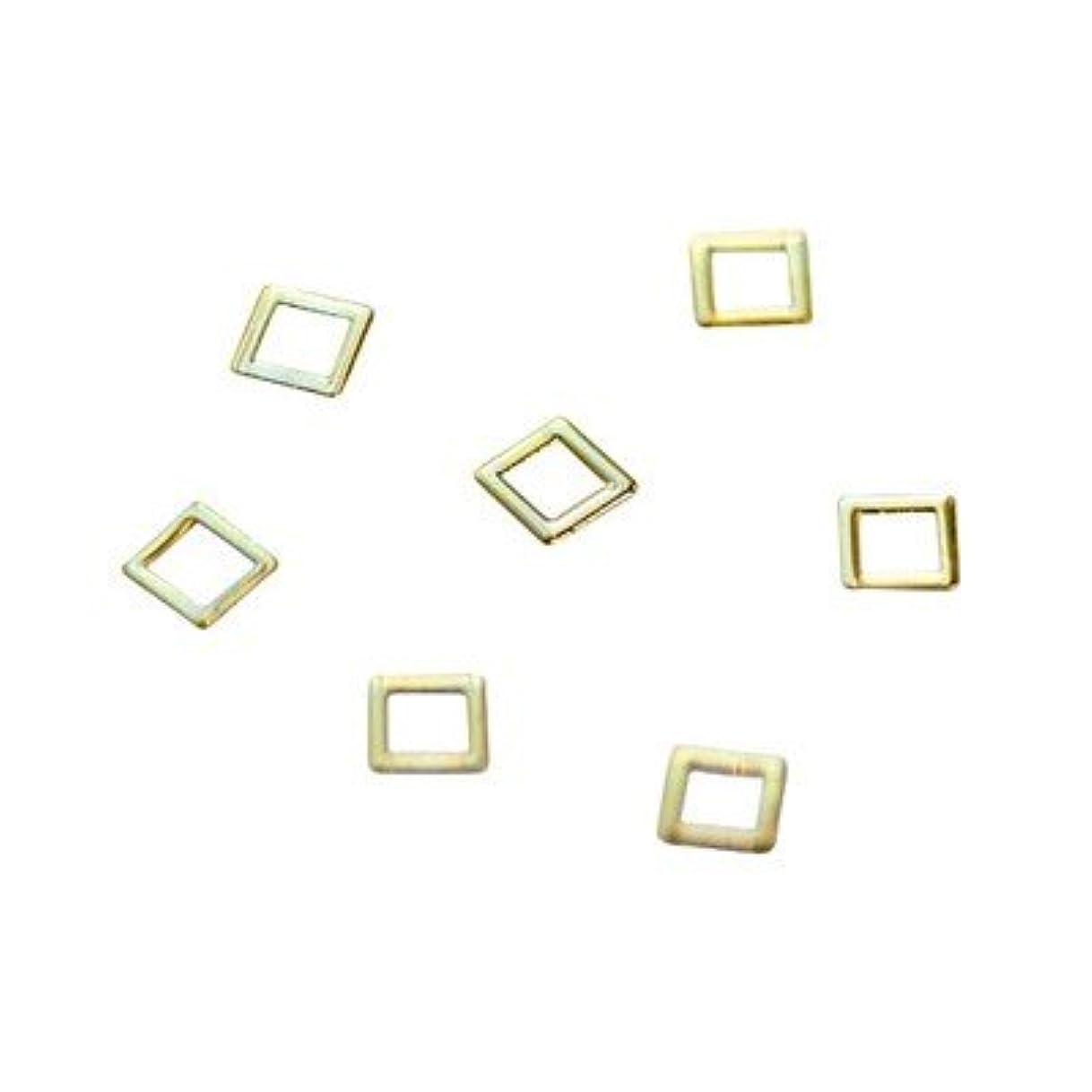 予防接種する隣接するウイルスクレア モードスクエア 2mm ゴールド