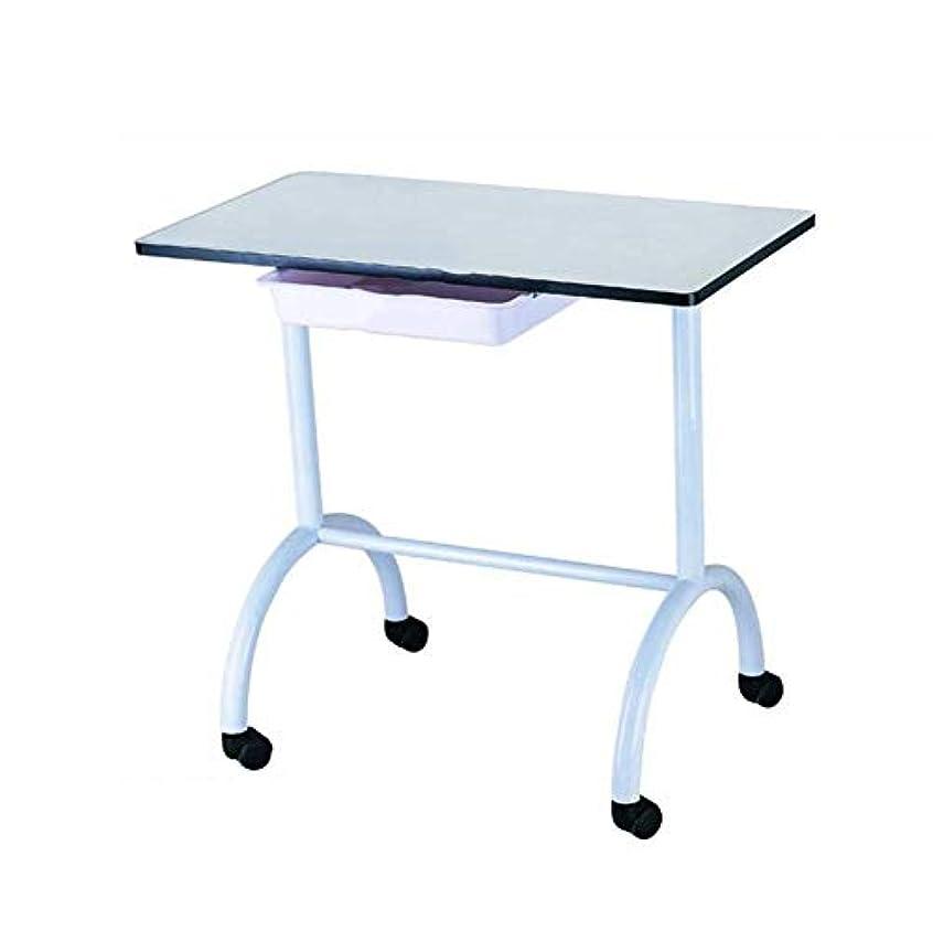 アウター表面分解するネイルテーブルポータブルマニキュアテーブルベントネイルデスクワークステーションサロンスパネイルアートビューティーサロン機器ホワイト