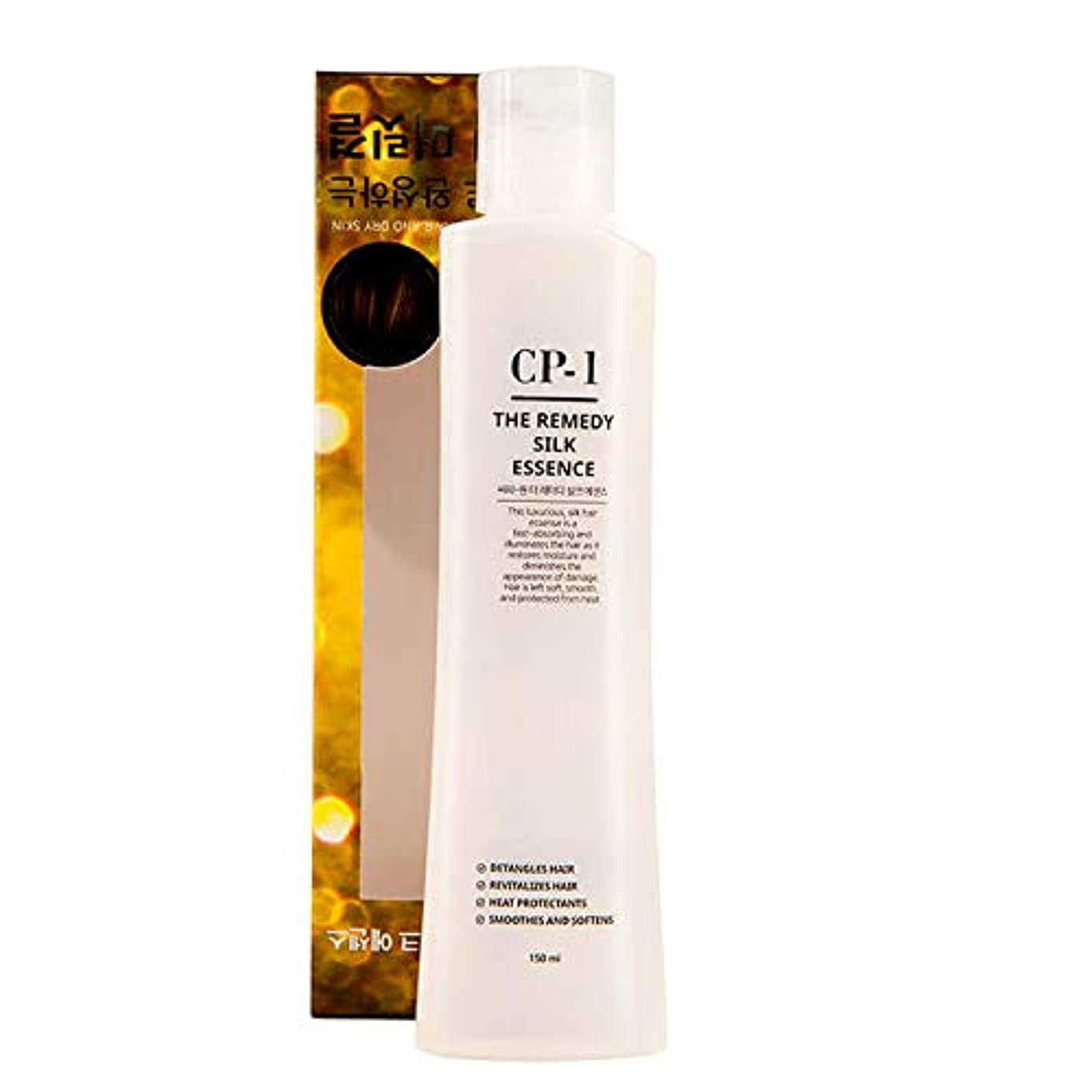 階層問い合わせ冷凍庫Esthetic House[エステティックハウス] CP-1 治療シルクエッセンス 150ml (傷んだ髪や乾燥肌の韓国のヘアケアに) / The Remedy Silk Essence
