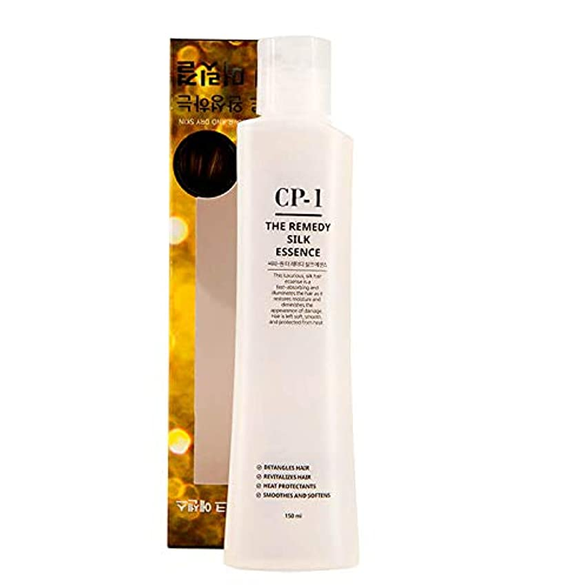 職業九時四十五分フェードEsthetic House[エステティックハウス] CP-1 治療シルクエッセンス 150ml (傷んだ髪や乾燥肌の韓国のヘアケアに) / The Remedy Silk Essence