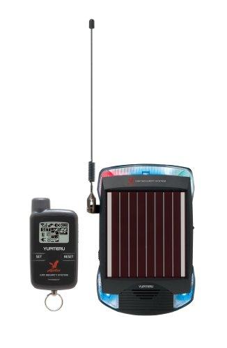 ユピテル アギュラス簡単取付ソーラー充電タイプ カーセキュリティ通報機能付き VE-S36RS