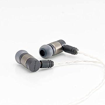 VECLOS インナーイヤーヘッドフォン EPT-500TG (チタンゴールド)【日本国内正規品】【日本製】