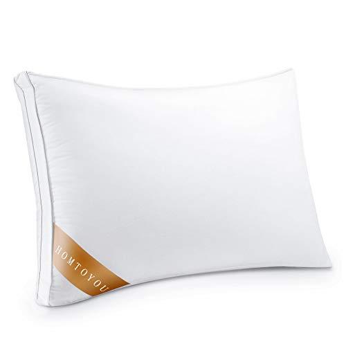 枕 安眠 人気 肩こり対策 マクラ 高反発枕 快眠枕 首・頭・肩をやさしく支える健康枕 高さ調節可能 防ダニ 丸洗い可能 いびき防止 仰向き横向き対応 男女兼用 高級ホテル仕様マクラ 43x63cm (ホワイト)