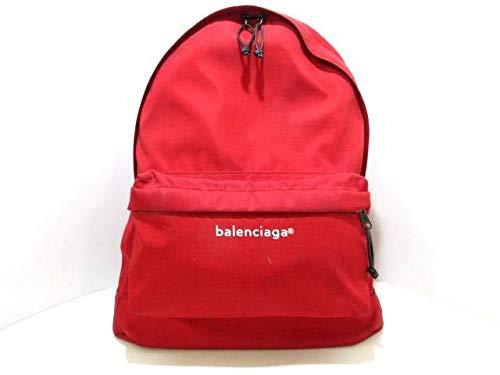 (バレンシアガ)BALENCIAGA リュックサック エクスプローラー バックパック レッド 459744 【中古】