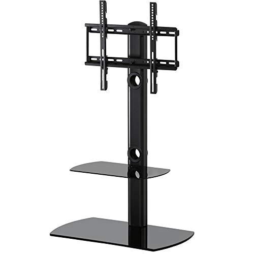 FITUEYES テレビスタンド 23~55インチ対応 壁寄せテレビスタンド 高さ調節可能 ラック回...