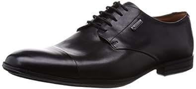 [クラークス] Clarks DERRY WORK GTX BLACK LEATHER 26107236 Black Leather(ブラックレザー/105)