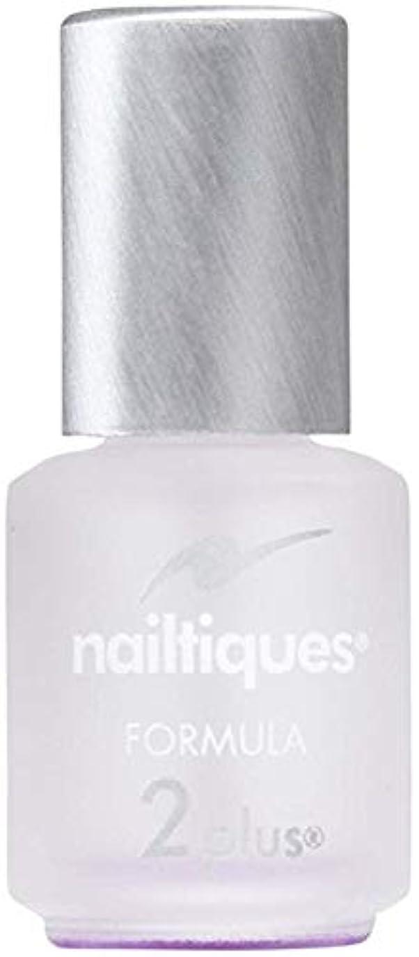 暖かく通り抜ける大きなスケールで見るとアメリカで一番売れている 爪強化 ベースコート Nailtiques Formula 2 0.25 Ounce