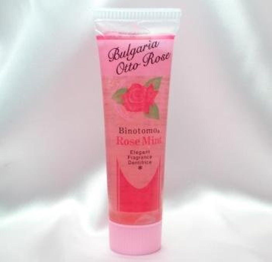 【不動化学】香りのはみがきローズミント60g