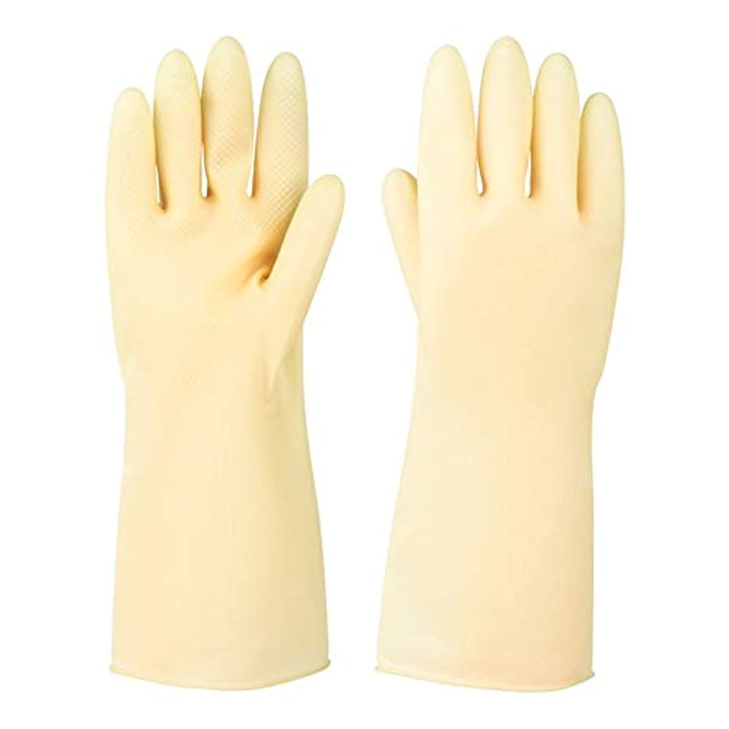 動物園バンドル重要使い捨て手袋 ラバーレザーグローブ厚めの滑り止め耐摩耗性防水保護手袋、5ペア ニトリルゴム手袋 (Color : 5 pair, Size : S)