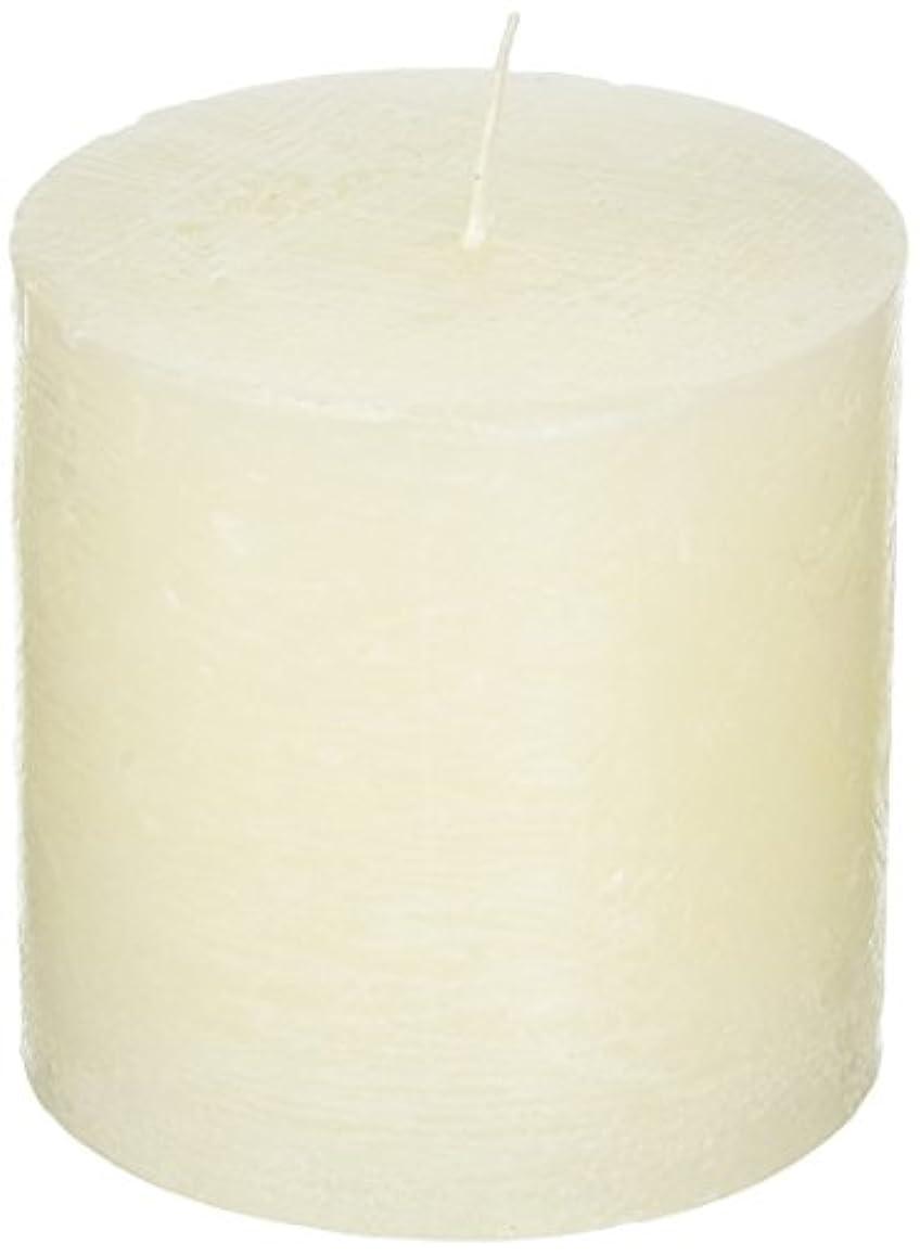 ラスティクピラー3×3 「 シルキーホワイト 」 キャンドル A4890010SWH