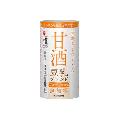 マルコメプラス糀甘酒豆乳ブレンドカートカン125ml×18本入【×2ケース:合計36本】