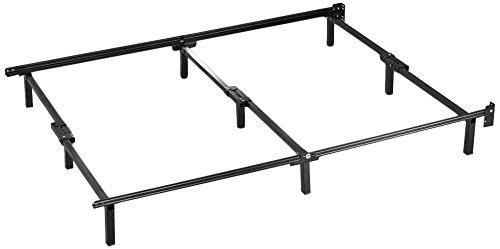 Compack Adjustable Steel Bed Frame, Fits Twin to Queen