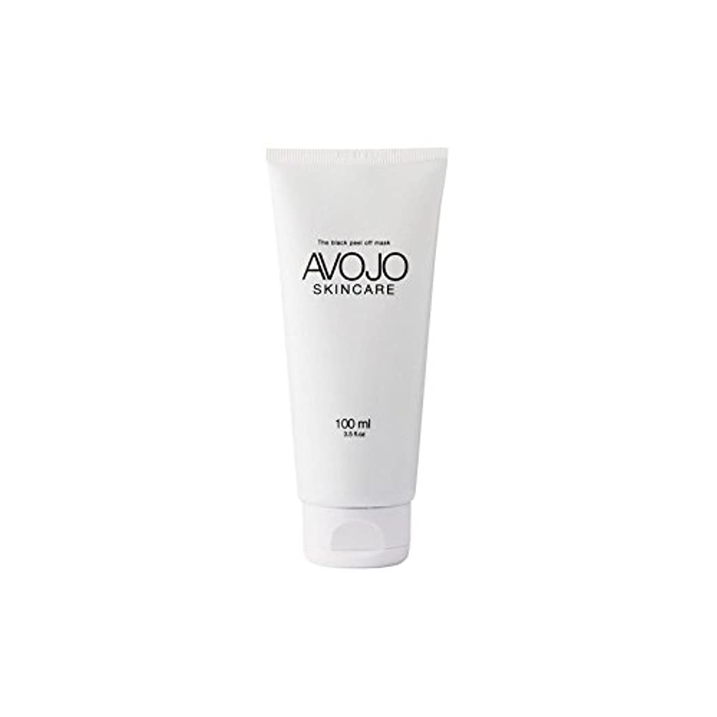 比率モニター彼女は- 黒皮オフマスク - (ボトル100ミリリットル) x2 - Avojo - The Black Peel Off Mask - (Bottle 100ml) (Pack of 2) [並行輸入品]