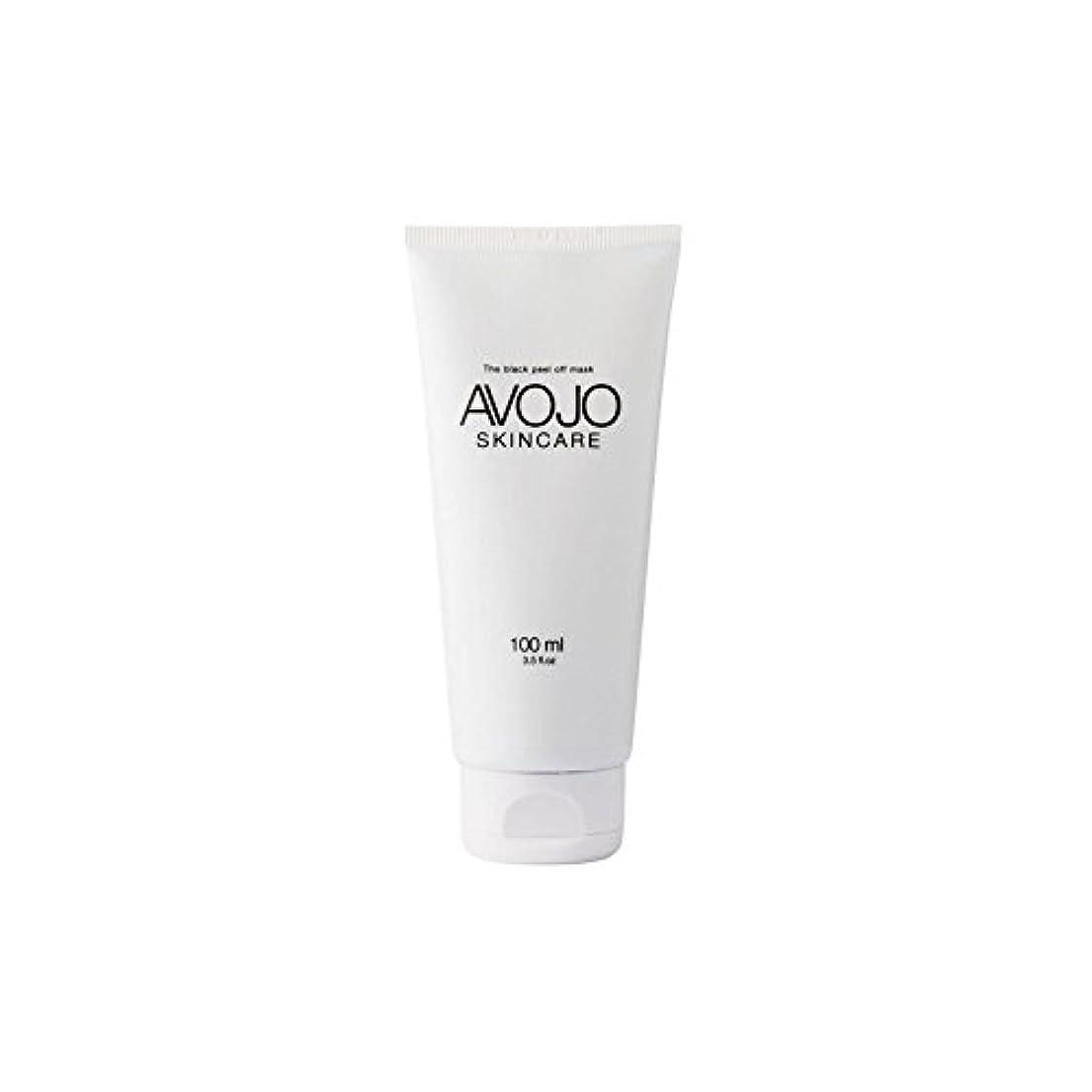 ターミナル協定パブ- 黒皮オフマスク - (ボトル100ミリリットル) x4 - Avojo - The Black Peel Off Mask - (Bottle 100ml) (Pack of 4) [並行輸入品]