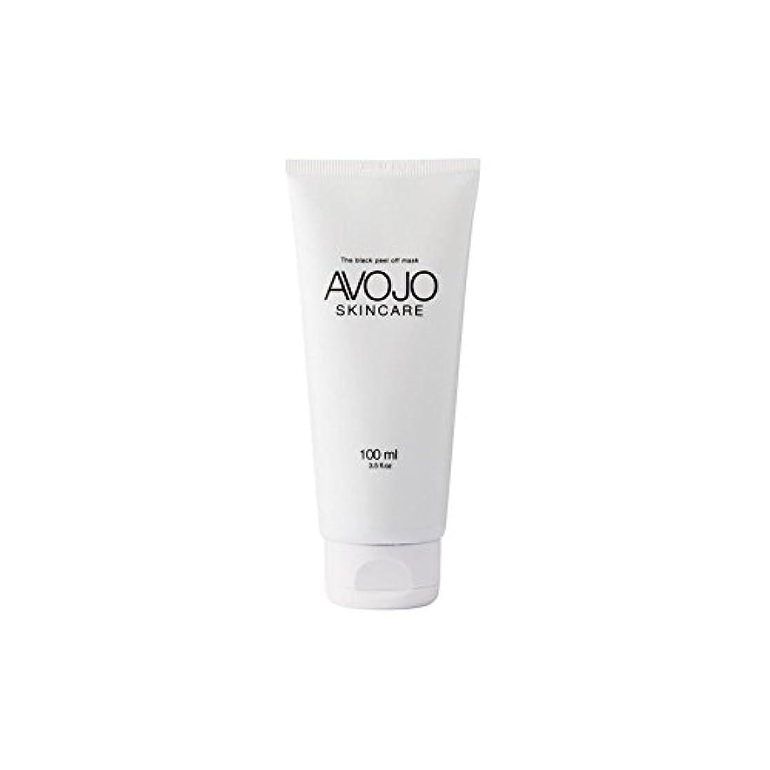 ピッチ順応性染料Avojo - The Black Peel Off Mask - (Bottle 100ml) - - 黒皮オフマスク - (ボトル100ミリリットル) [並行輸入品]