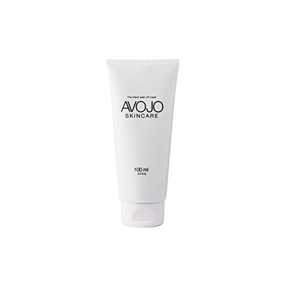 言い訳送信する足音- 黒皮オフマスク - (ボトル100ミリリットル) x4 - Avojo - The Black Peel Off Mask - (Bottle 100ml) (Pack of 4) [並行輸入品]