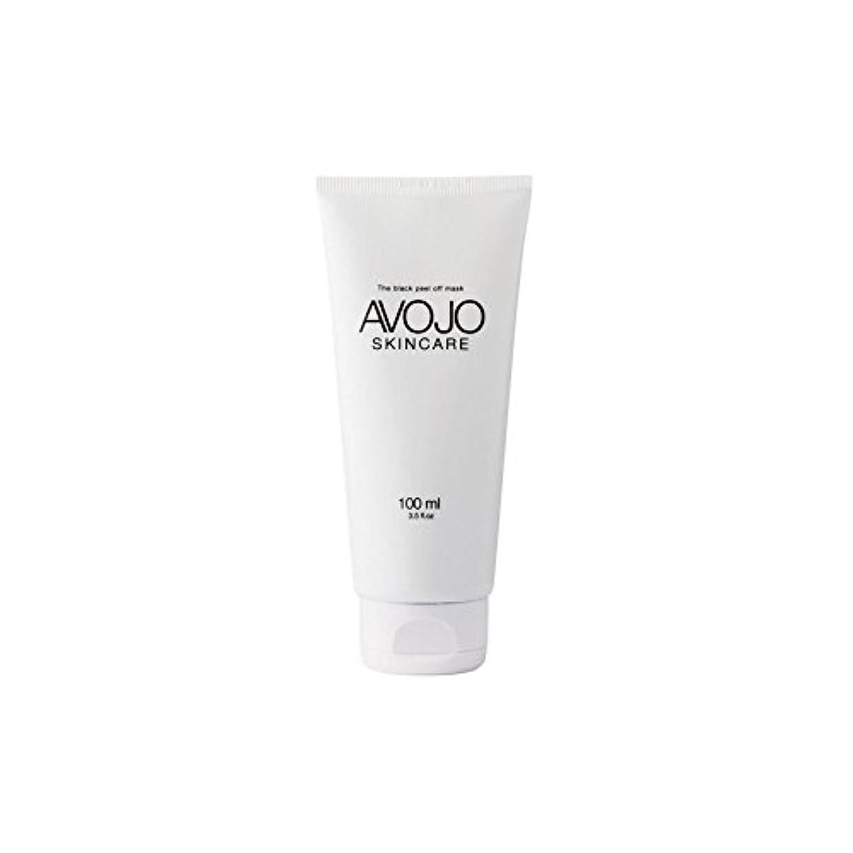 引退した数学者フランクワースリー- 黒皮オフマスク - (ボトル100ミリリットル) x4 - Avojo - The Black Peel Off Mask - (Bottle 100ml) (Pack of 4) [並行輸入品]