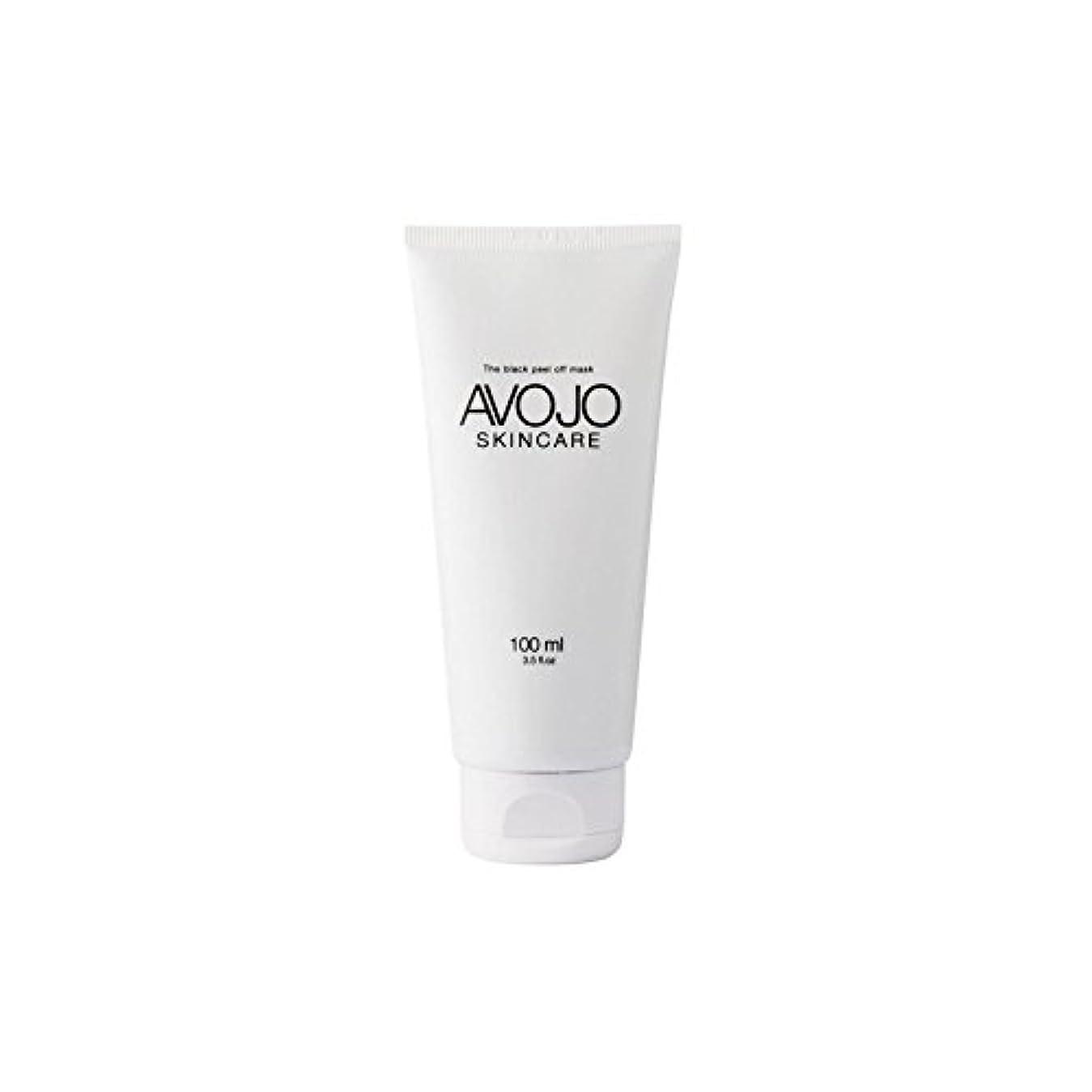 平行白い計算するAvojo - The Black Peel Off Mask - (Bottle 100ml) - - 黒皮オフマスク - (ボトル100ミリリットル) [並行輸入品]
