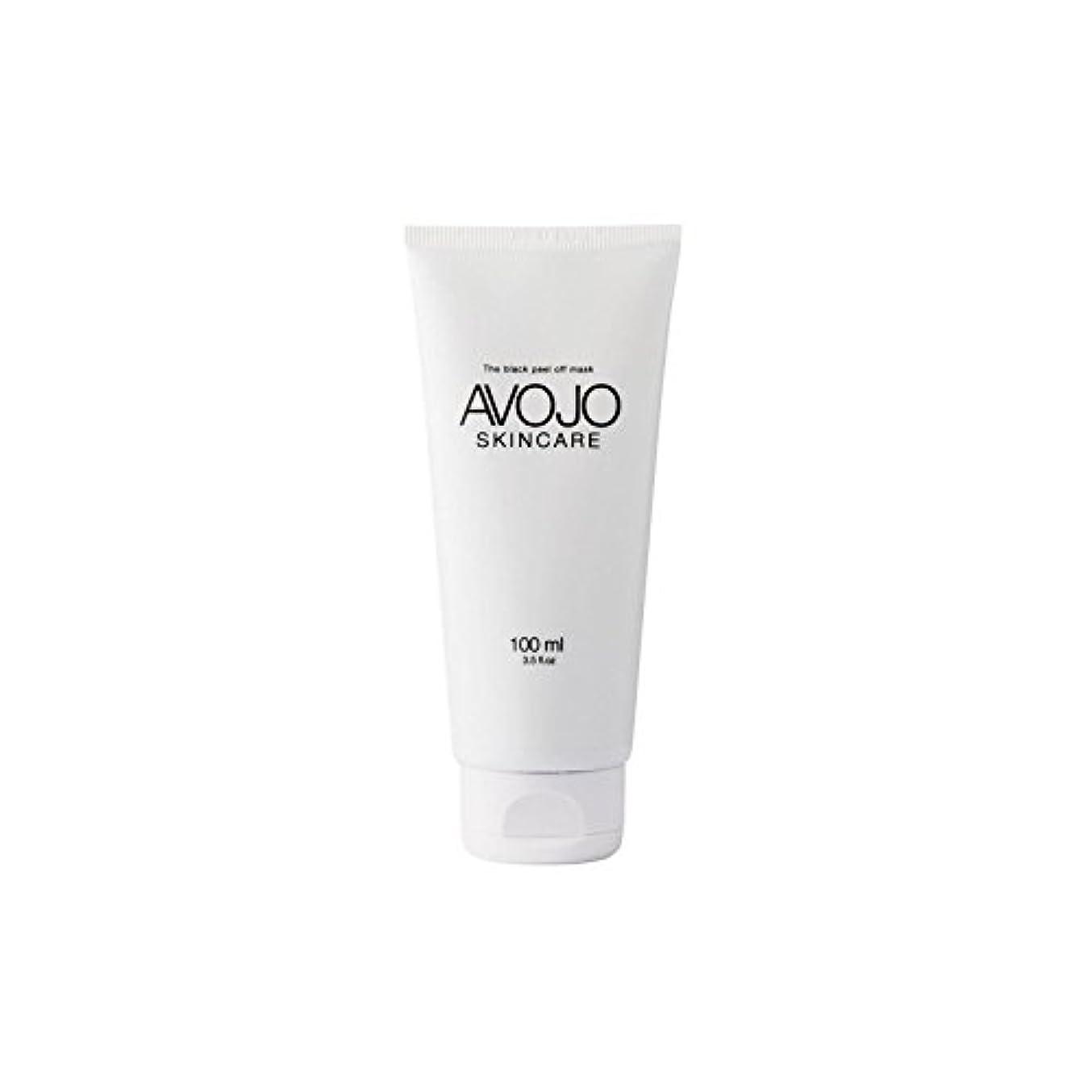 入学する時期尚早接辞Avojo - The Black Peel Off Mask - (Bottle 100ml) (Pack of 6) - - 黒皮オフマスク - (ボトル100ミリリットル) x6 [並行輸入品]