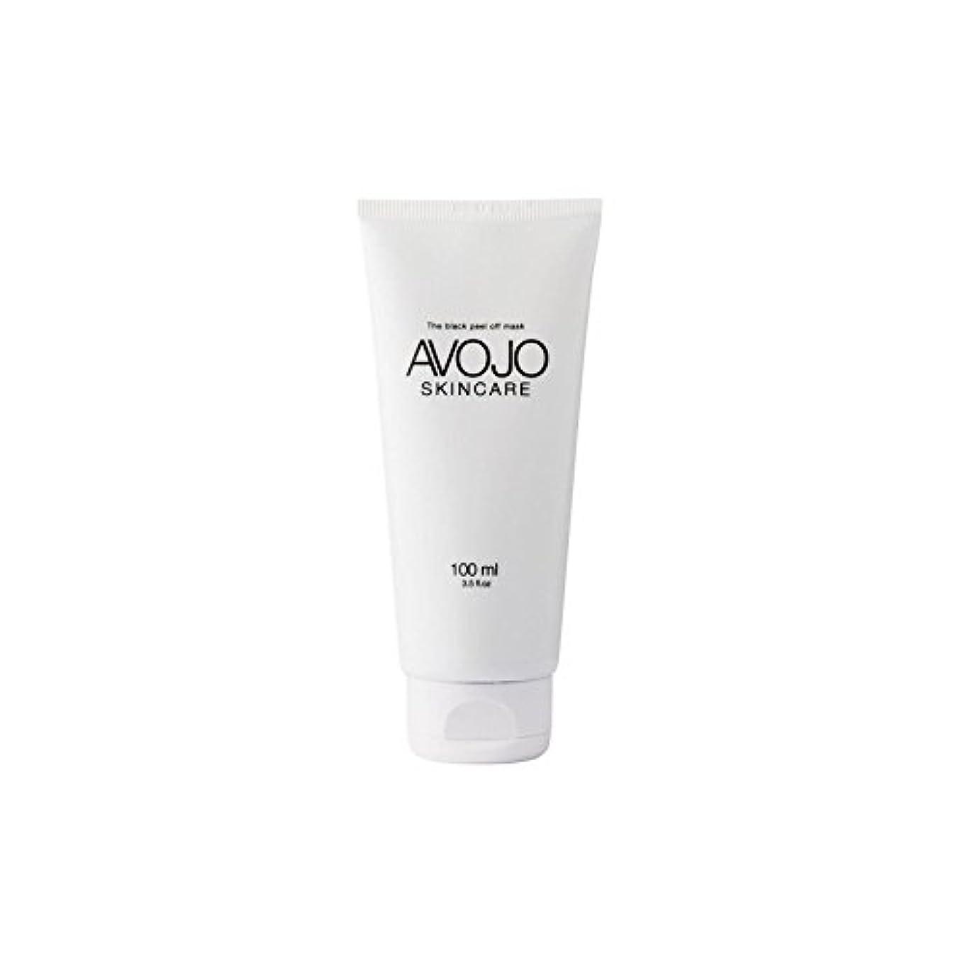 複数消化学部- 黒皮オフマスク - (ボトル100ミリリットル) x2 - Avojo - The Black Peel Off Mask - (Bottle 100ml) (Pack of 2) [並行輸入品]