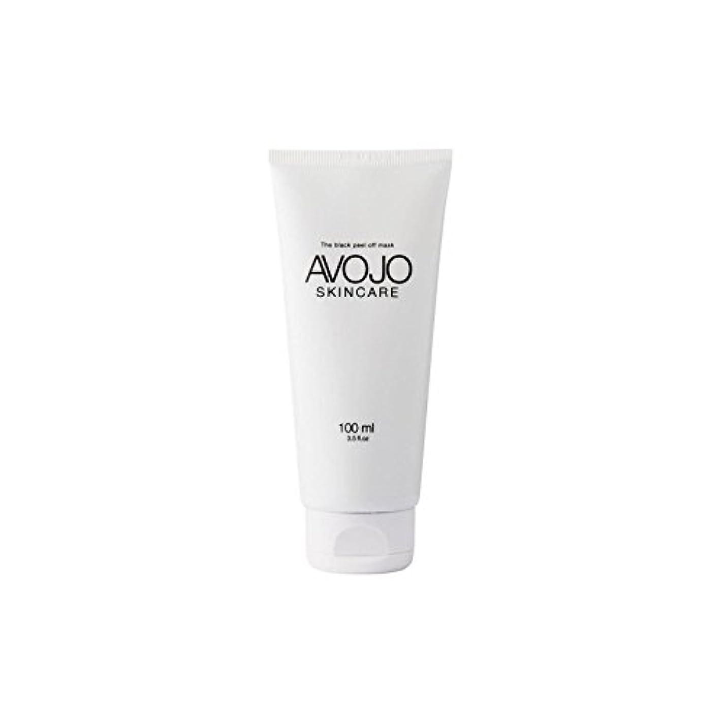 ダンプ寄託弱める- 黒皮オフマスク - (ボトル100ミリリットル) x4 - Avojo - The Black Peel Off Mask - (Bottle 100ml) (Pack of 4) [並行輸入品]