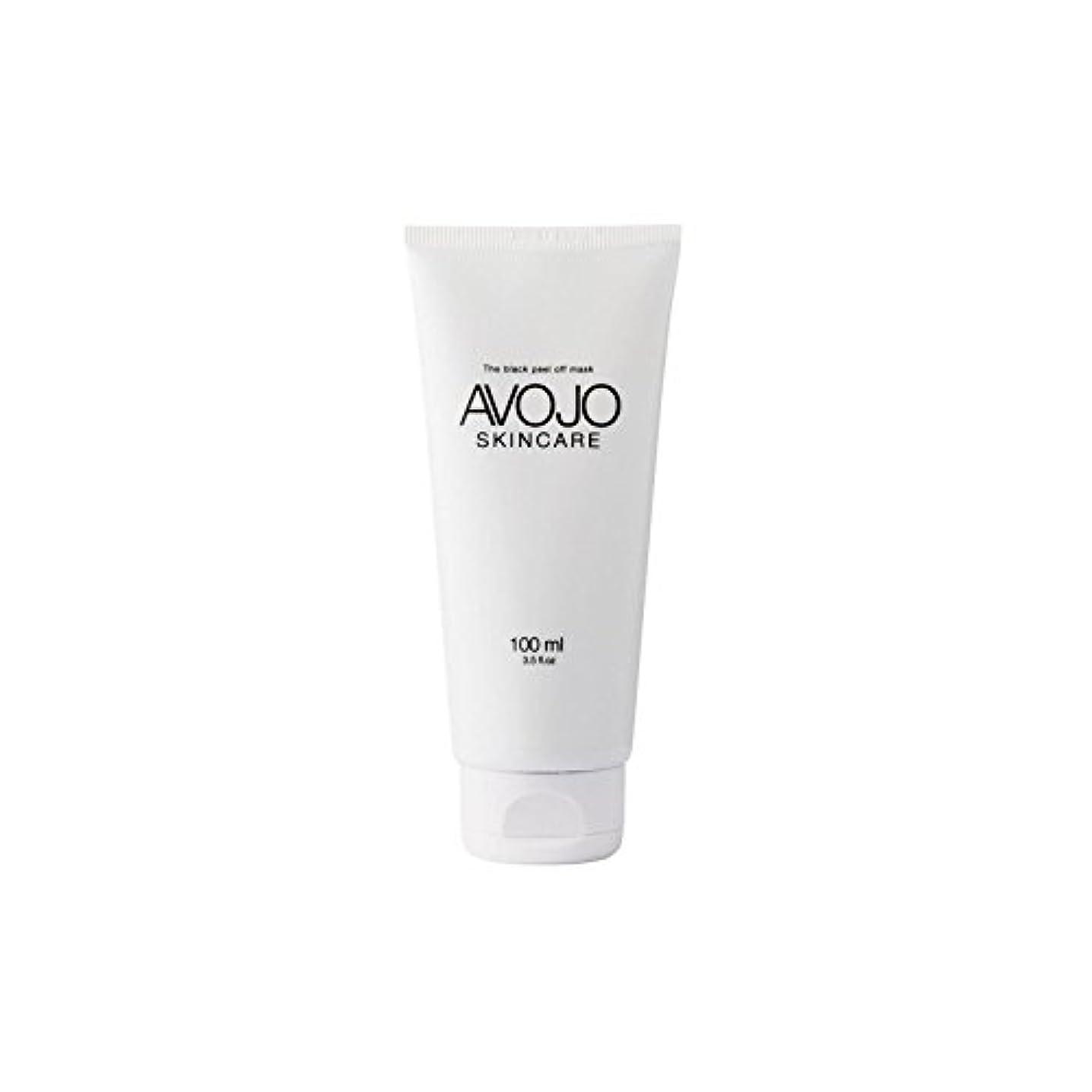 資源絶縁するうるさい- 黒皮オフマスク - (ボトル100ミリリットル) x4 - Avojo - The Black Peel Off Mask - (Bottle 100ml) (Pack of 4) [並行輸入品]