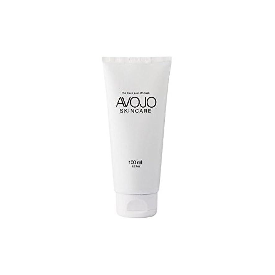 掻くいらいらするローズ- 黒皮オフマスク - (ボトル100ミリリットル) x2 - Avojo - The Black Peel Off Mask - (Bottle 100ml) (Pack of 2) [並行輸入品]