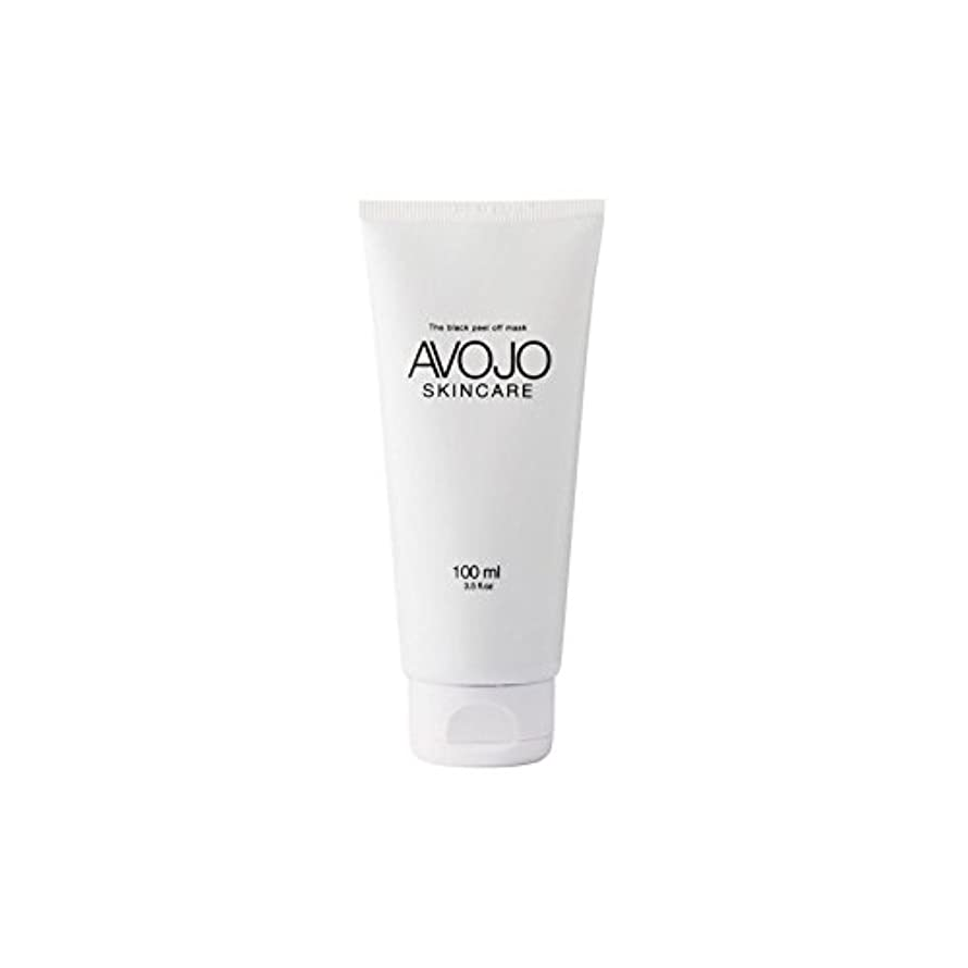 メジャーポーチ歴史家- 黒皮オフマスク - (ボトル100ミリリットル) x4 - Avojo - The Black Peel Off Mask - (Bottle 100ml) (Pack of 4) [並行輸入品]