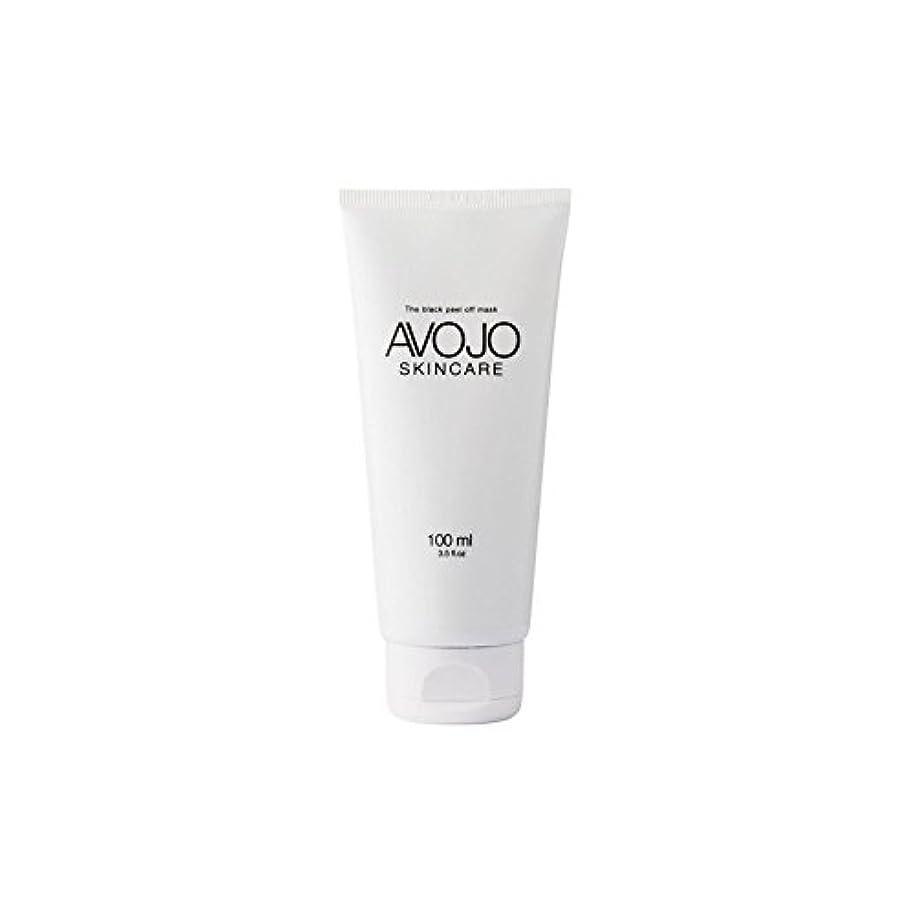 グリースに対して証書Avojo - The Black Peel Off Mask - (Bottle 100ml) - - 黒皮オフマスク - (ボトル100ミリリットル) [並行輸入品]