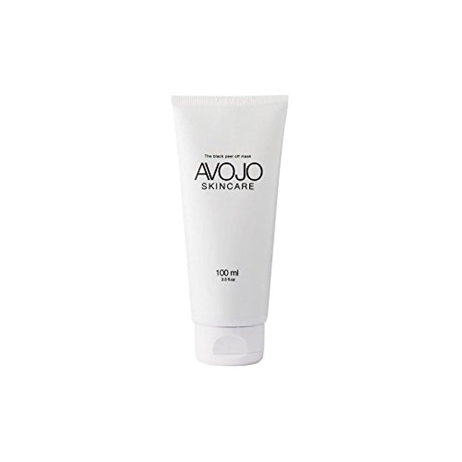 サイクロプス酸望まない- 黒皮オフマスク - (ボトル100ミリリットル) x2 - Avojo - The Black Peel Off Mask - (Bottle 100ml) (Pack of 2) [並行輸入品]
