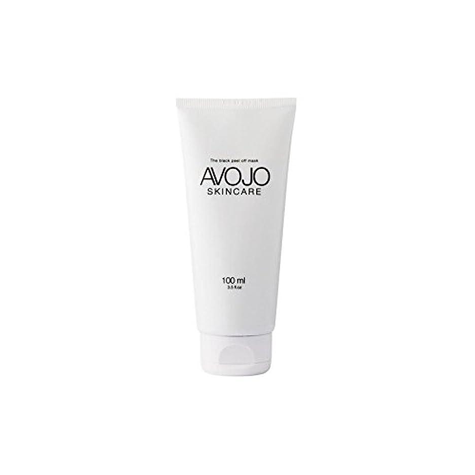 - 黒皮オフマスク - (ボトル100ミリリットル) x2 - Avojo - The Black Peel Off Mask - (Bottle 100ml) (Pack of 2) [並行輸入品]