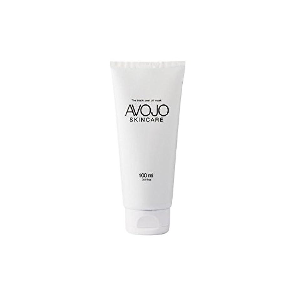 不道徳スモッグバリア- 黒皮オフマスク - (ボトル100ミリリットル) x4 - Avojo - The Black Peel Off Mask - (Bottle 100ml) (Pack of 4) [並行輸入品]